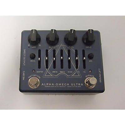 Darkglass ALPHA OMEGA ULTRA V2 Bass Effect Pedal