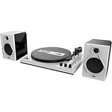 ALT-900 Turntable Stereo System Black/White