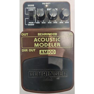 Behringer AM100 Effect Pedal