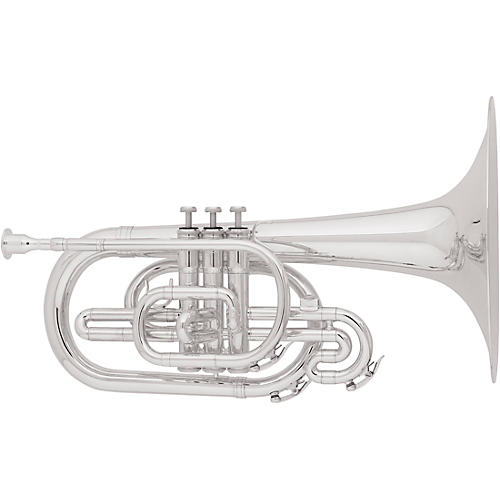 Allora AMP-450 Marching F Mellophone Silver