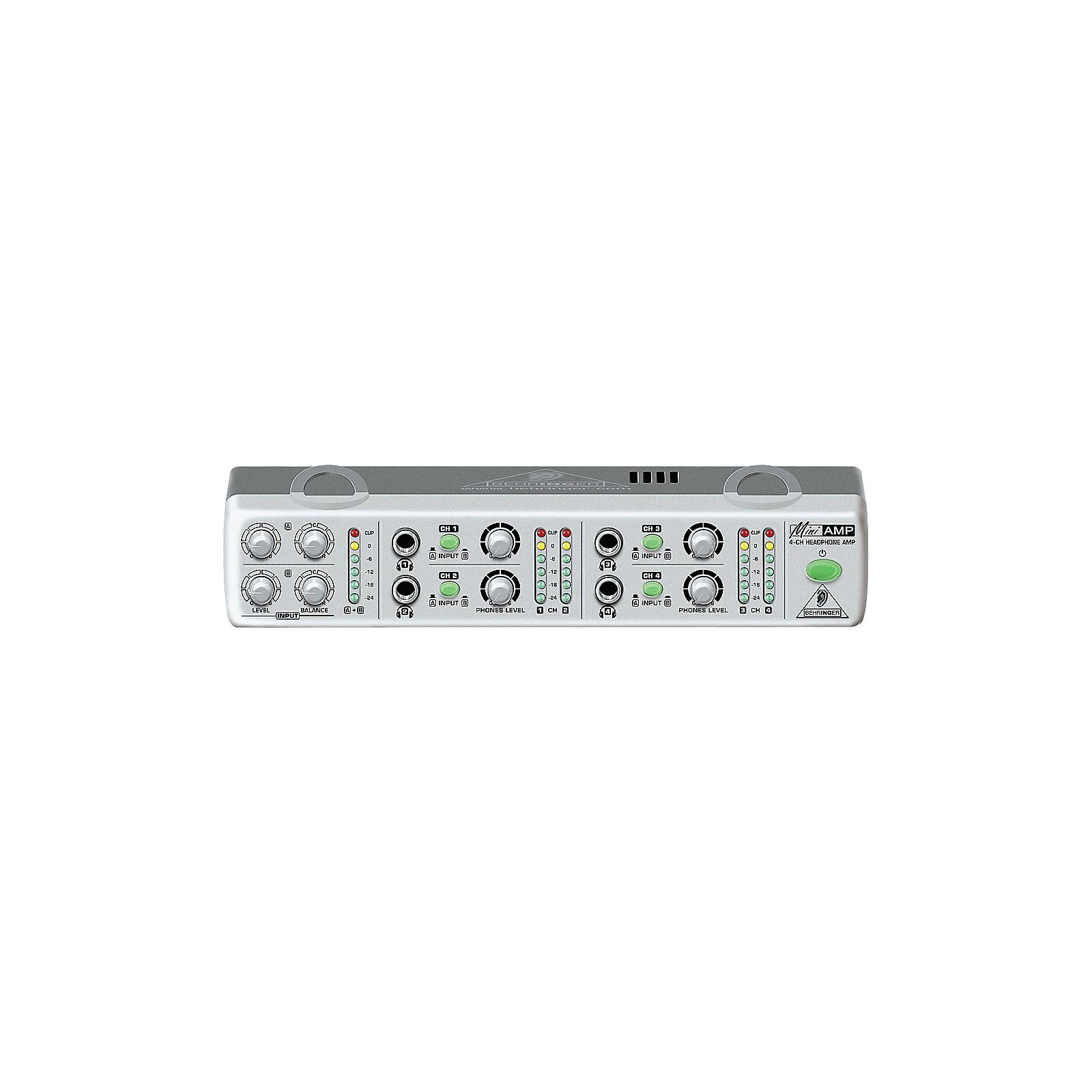 Behringer AMP800 MiniAMP 4-Channel Stereo Headphone Amplifier