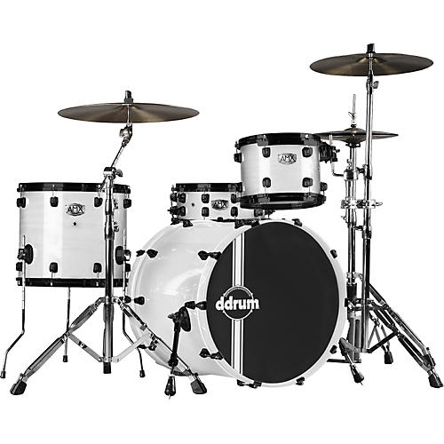 Ddrum AMX Ash/Maple Hybrid 4-Piece Drum Shell Pack with 24