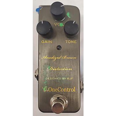 One Control ANODIEZED BROWN Effect Pedal