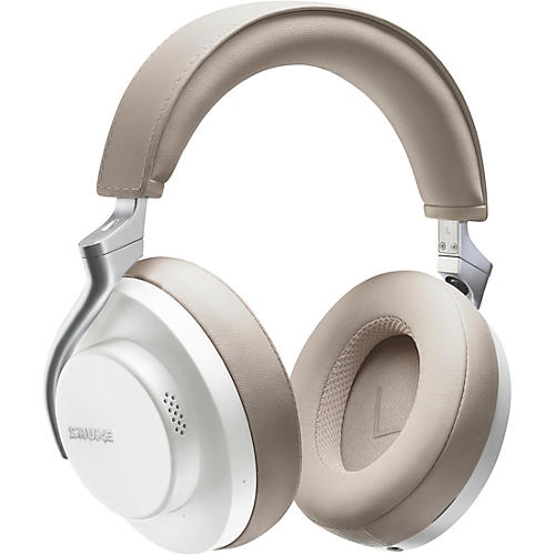 Shure AONIC 50 Wireless Noise-Cancelling Headphones White