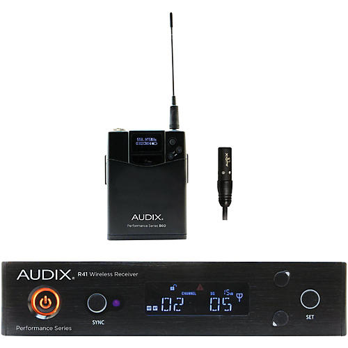 Audix AP41 L5 Lavalier Wireless System 554-586 MHz