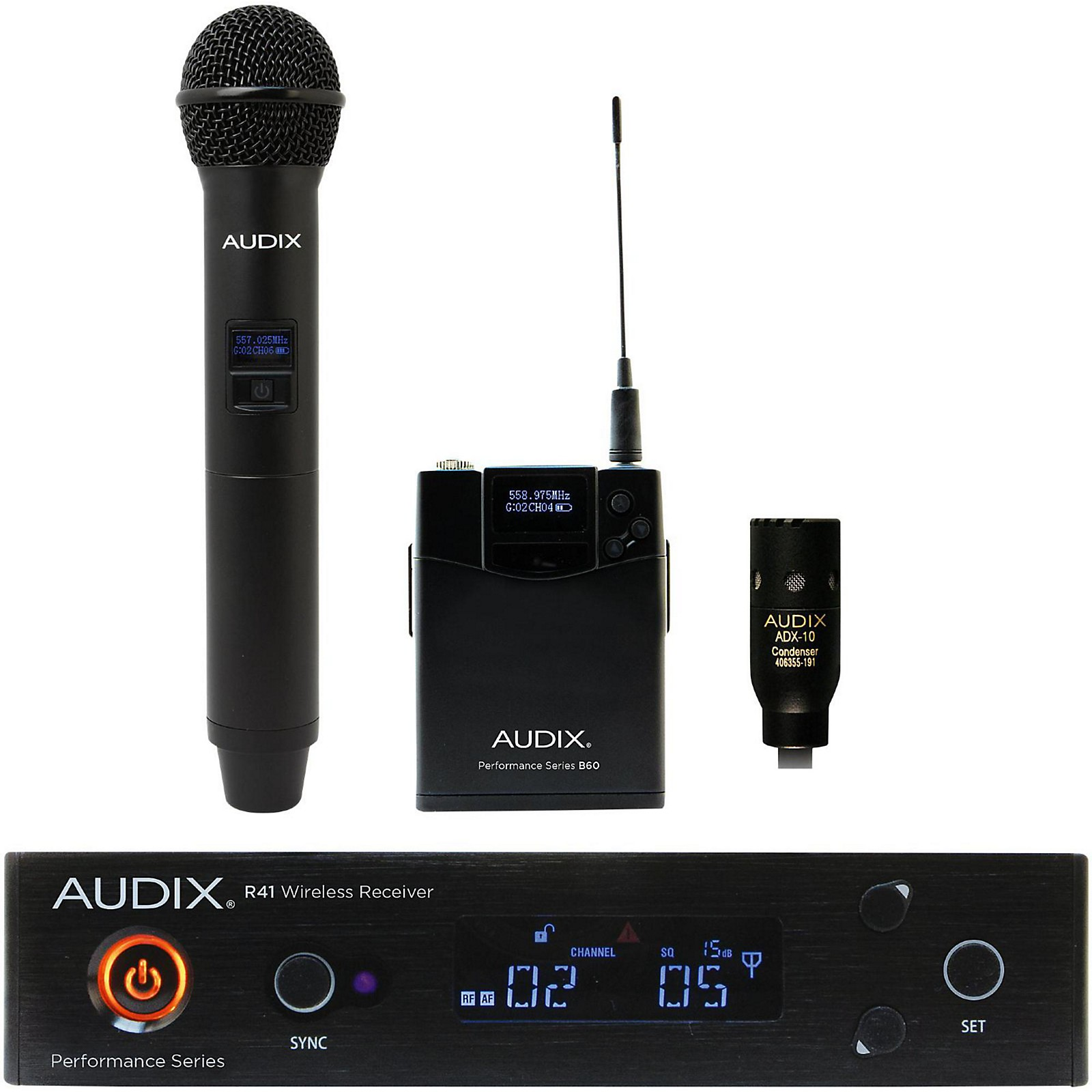 Audix AP41 OM2 L10 Lavalier Wireless System