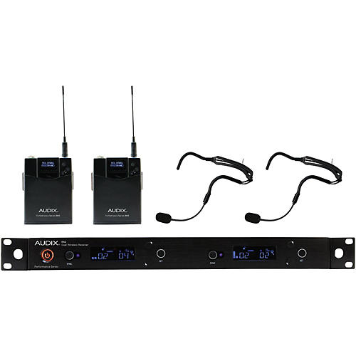 Audix AP42 HT2 Dual Headset Wireless System