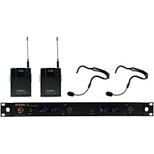 Open Box Audix AP42 HT2 Dual Headset Wireless System