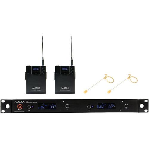 Audix AP42 HT7BG Dual Headset Wireless System - Beige Restock 554-586 MHz