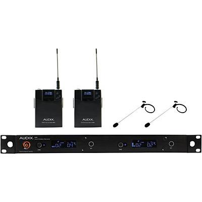 Audix AP42HT7 Dual Headset Wireless system w/ HT7 Omni Condenser mic