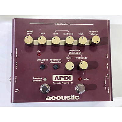 Acoustic APDI Direct Box