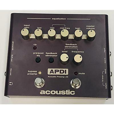Acoustic APDI Guitar Preamp