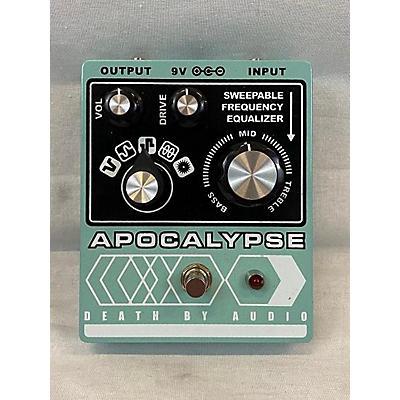 Death By Audio APOCALYPSE FUZZ Effect Pedal