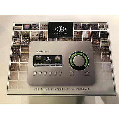 Universal Audio APOLLO SOLO USB WINDOWS Audio Interface