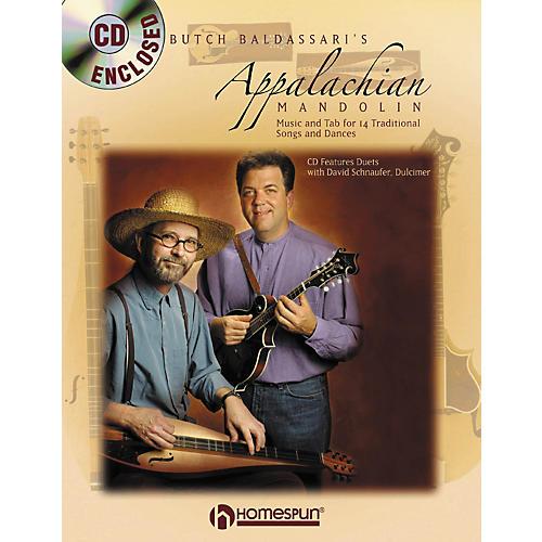 Homespun APPALACHIAN MANDOLIN & DULCIMER BOOK/CD