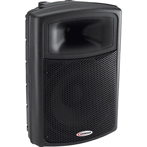 harbinger aps15 15 powered pa speaker musician 39 s friend