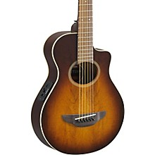 Open Box Yamaha APX Thinline 3/4 size Acoustic-Electic Guitar