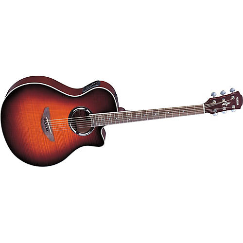 Yamaha APX500FM Flame Maple Thinline Cutaway Acoustic-Electric Guitar