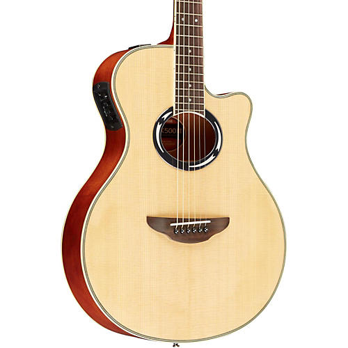 yamaha apx500iii thinline cutaway acoustic electric guitar natural musician 39 s friend. Black Bedroom Furniture Sets. Home Design Ideas