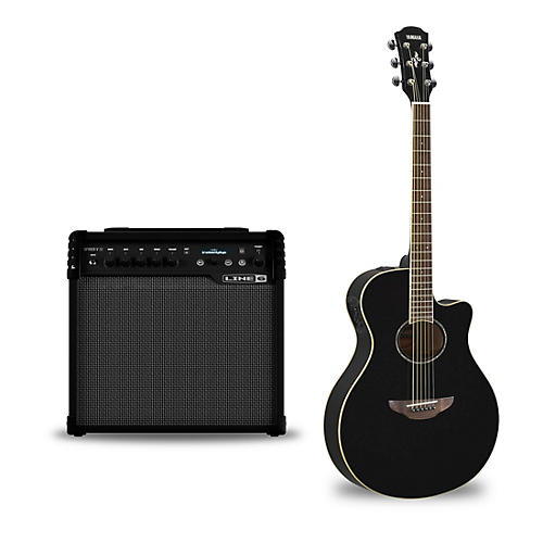 yamaha apx600 acoustic electric guitar and line 6 spider v 30 guitar combo amp musician 39 s friend. Black Bedroom Furniture Sets. Home Design Ideas