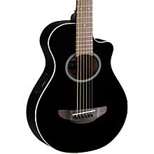 APXT2 3/4 Thinline Acoustic-Electric Cutaway Guitar Black