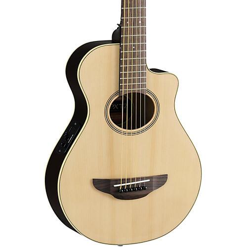 Yamaha APXT2 3/4 Thinline Acoustic-Electric Cutaway Guitar Natural