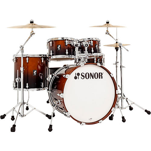 SONOR AQ2 Stage Maple 5-Piece Shell Pack Brown Fade