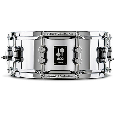 SONOR AQ2 Steel Snare Drum