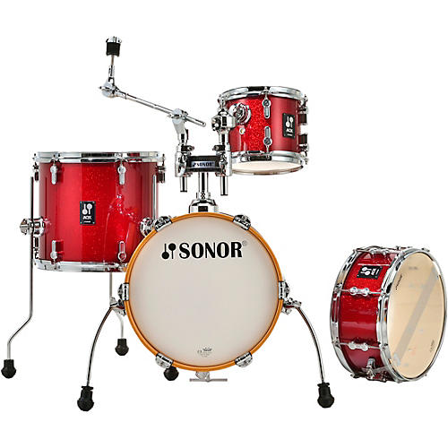 SONOR AQX Micro Shell Pack Red Moon Sparkle