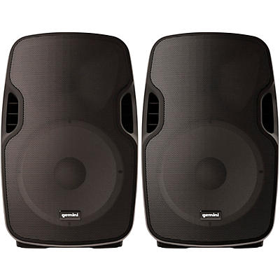 "Gemini AS-08TOGO 8"" Wireless Rechargeable Bluetooth Speakers (Pair)"