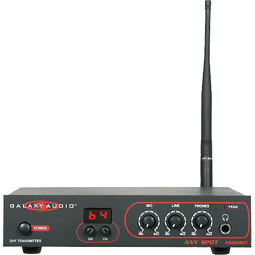 Galaxy Audio AS-1000T Any Spot Wireless Transmitter