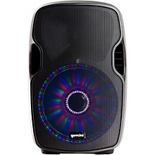 Open Box Gemini AS-10BLU-LT 10 in. Powered Bluetooth Speaker with LED Lights