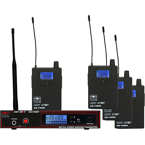 Galaxy Audio AS-1100 Series Band pack