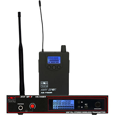 Galaxy Audio AS-1100 UHF Wireless Personal Monitor