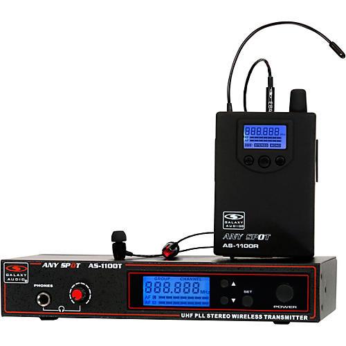 Galaxy Audio AS-1100 UHF Wireless Personal Monitor Band P2