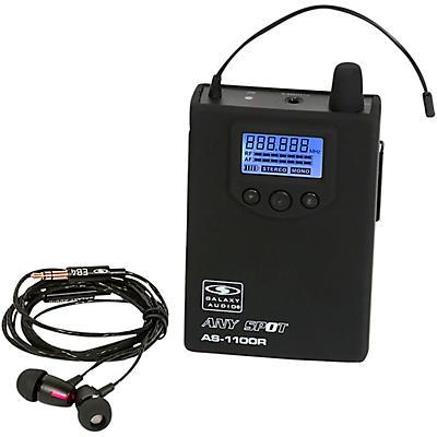 Galaxy Audio AS-1100 Wireless In-Ear Monitor Receiver