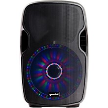 Gemini AS-12BLU-LT 12 in. Powered Bluetooth Speaker with LED Lights