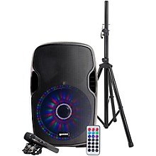 Open BoxGemini AS-12BLU-LT-PK 12 in. Powered Bluetooth Speaker Package