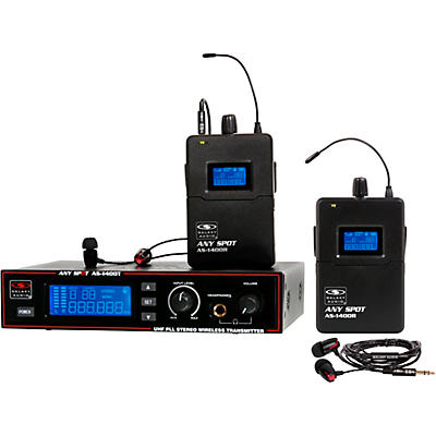 Galaxy Audio AS-1400-2 Wireless In-Ear Monitor Twin Pack System