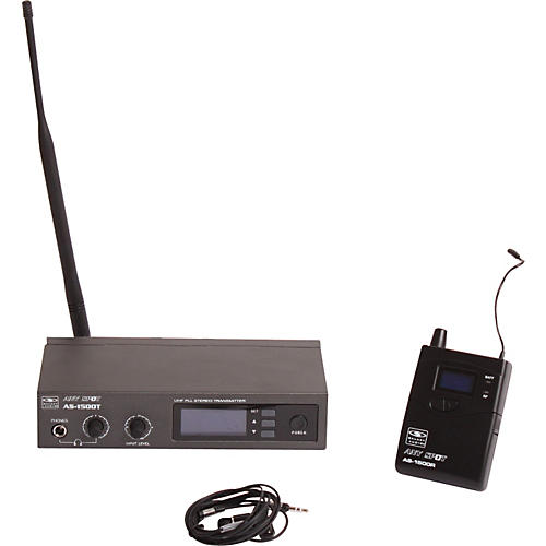 Galaxy Audio AS-1500 120-Channel Wireless Personal Monitor