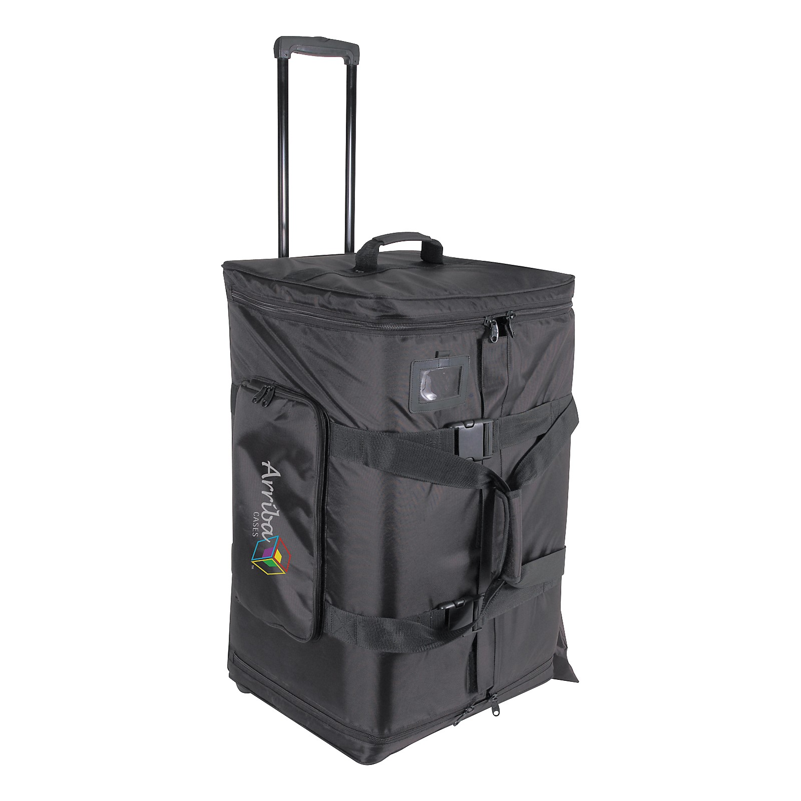 Arriba Cases AS-175 Speaker and Stand Combo Bag with Wheels