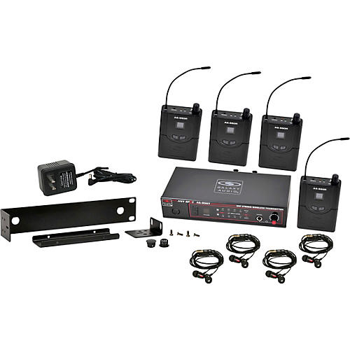 Galaxy Audio AS-950-4 Wireless In-Ear Monitor Band Pack