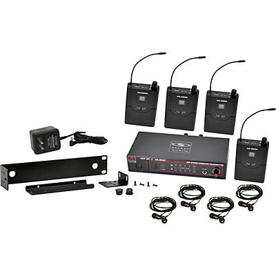 Galaxy Audio AS-950-4 Wireless In-Ear Monitor Band Pack (P2 Band)-470-494 MHz