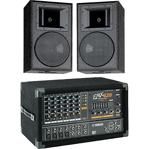 Yamaha AS108/EMX620 Package