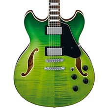 AS73FM Artcore Semi-Hollow Electric Guitar Green Valley Gradation