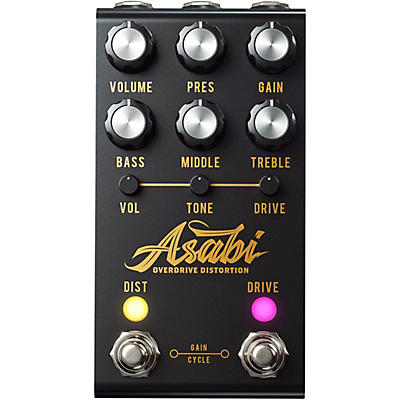Jackson Audio ASABI Distortion Effects Pedal