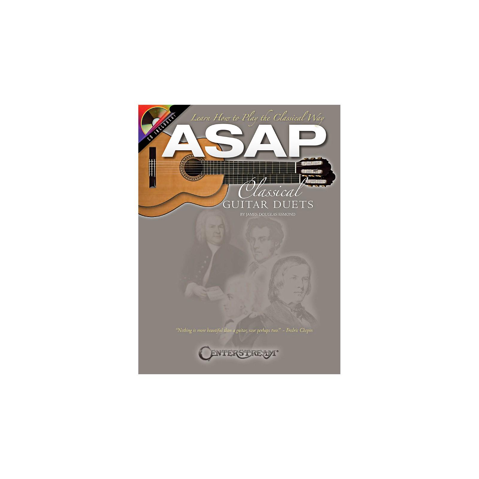 Hal Leonard ASAP Classical Guitar Duets Book/CD