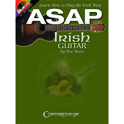 Centerstream Publishing ASAP Irish Guitar - Learn To Play The Irish Way Book/CD