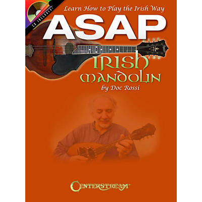 Centerstream Publishing ASAP Irish Mandolin Book/CD