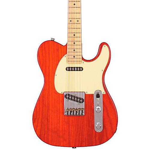 G&L ASAT Classic Electric Guitar Clear Orange Maple Fretboard